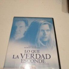 Cinema: G-6 DVD CINE LO QUE LA VERDAD ESCONDE. Lote 196932310