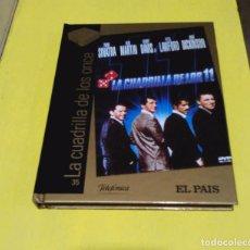 Cine: LA CUADRILLA DE LOS ONCE DVD + LIBRO. Lote 196941848