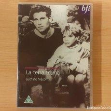 Cine: LA TERRA TREMA (1948) LUCHINO VISCONTI EDICIÓN REINO UNIDO (SUBTÍTULOS INGLÉS) (MUY RARO). Lote 196961223