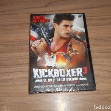 Cine: KICKBOXER 3 EL ARTE DE LA GUERRA DVD NUEVA PRECINTADA. Lote 197026472