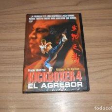 Cine: KICKBOXER 4 KICK BOXER 4 EL AGRESOR DVD NUEVA PRECINTADA. Lote 197026493