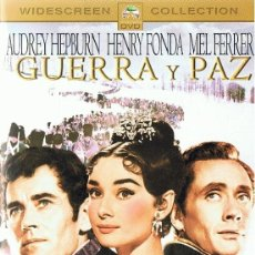 Cine: GUERRA Y PAZ AUDREY HEPBURN & HENRY FONDA. Lote 197168308