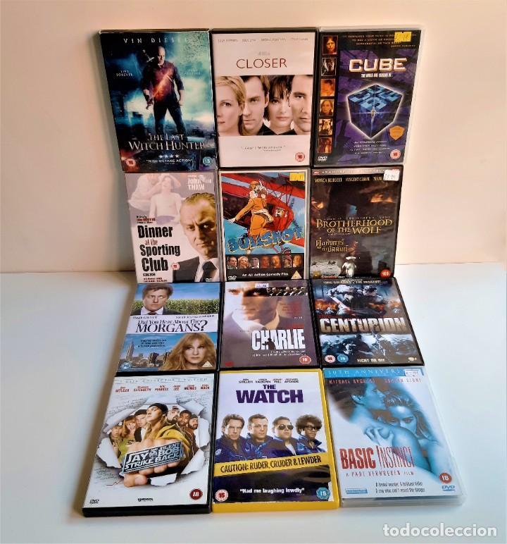 LOTE DE 12 PELICULAS EN DVD VARIAS (Cine - Películas - DVD)