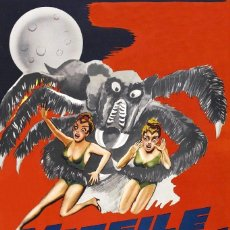Cine: MISSILE TO THE MOON. Lote 197375715