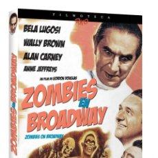 Cine: ZOMBIES EN BROADWAY -DVD +LIBRETO 24PAGINAS Y CAJA EXTERNA - EDICION DE LUJO -BELA LUGOSI -TERROR. Lote 197387272