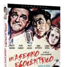 Cine: UN ASESINO EGOCÉNTRICO -DVD +LIBRETO 24PAGINAS Y CAJA EXTERNA - EDICION DE LUJO -BELA LUGOSI -TERROR. Lote 197387358