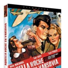 Cine: AQUELLA NOCHE EN VARSOVIA -DVD +LIBRETO 24 PAGINAS Y CAJA EXTERNA -EDICION DE LUJO 2 GUERRA MUNDIAL . Lote 197388036