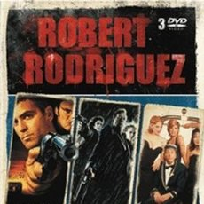Cine: PACK ROBERT RODRIGUEZ - 3 DVD - ABIERTO HASTA EL AMANECER -SIN CITY -FOUR ROOMS -TARANTINO. Lote 197392401