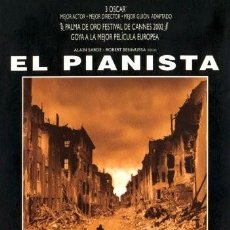 Cine: EL PIANISTA-ROMAN POLANSKI -EDICION ESPECIAL 3 DISCOS. Lote 197395633