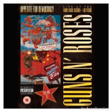 Cine: GUNS ROSES - APPETITE FOR DEMOCRACY DVD CON EXTRAS. Lote 197412870