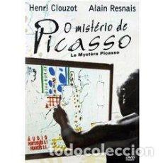 Cinema: EL MISTERIO PICASSO - HENRI-GEORGES CLOUZOT - DVD MUY RARO DESCATALOGADO. Lote 197551288