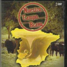Cine: BADAJOZ NUESTRO CAMPO BRAVO. Lote 197789526