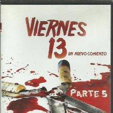 Cine: DVD VIERNES 13 PARTE 5.UN NUEVO COMIENZO.DANNY STEINMANN,ANTHONY BARRILE,COREY FELDMAN . Lote 197938210