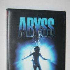 Cine: ABYSS (ED HARRIS, JOHN BEDFORD, ADAM NELSON, MICHAEL BEACH, TODD GRAFF) *** DVD CINE AVENTURA MARINA. Lote 198787637