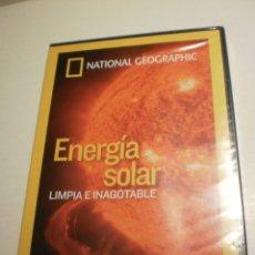 Cine: DVD ENERGÍA SOLAR. LIMPIA E INAGOTABLE. NATIONAL GEOGRAPHIC. 50 MIN (PRECINTADO). Lote 198863618