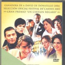 Cine: LA MEJOR JUVENTUD DVD ( 2 DVD = 360 MIN.) 1ª Y 2ª PARTE- UNA SAGA INOLVIDABLE Y SUPER-PREMIADA (LEER. Lote 198940693