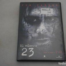 Cine: (9-B3) / 1 X DVD - EL NUMERO 23 - JIM CARREY. Lote 198992932
