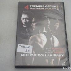 Cine: (9-B3) / 1 X DVD - MILLION DOLAR BABY - CLINT EASTWOOD, HILARY SWANK, MORGAN FREEMAN. Lote 198993615