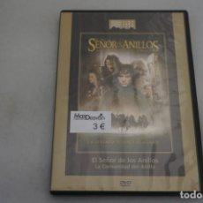 Cine: (9-B3) / 1 X DVD - EL SEÑOR DE LOS ANILLOS - LA COMUNIDAD DEL ANILLO. Lote 198993780