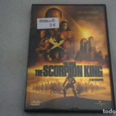 Cine: (9-B3) / 1 X DVD - EL REY ESCORPION / CHUCK RUSSELL. Lote 198994116