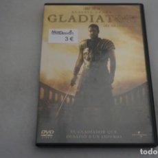 Cine: (9-B3) / 1 X DVD - GLADIATOR - RUSSELL CROWE. Lote 198994705