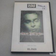 Cine: (9-B3) / 1 X DVD - ABRE LOS OJOS - ALEJANDRO AMENAVAR. Lote 198994802