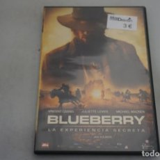 Cine: (9-B3) / 1 X DVD - BLUEBERRY / JAN KOUNEN. Lote 198994952