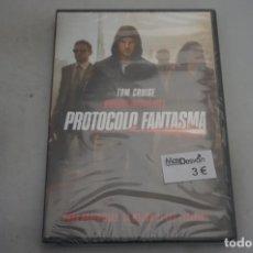 Cine: (9-B3) / 1 X DVD - MISION IMPOSIBLE PROTOCOLO FANTASMA - TON CRUISE. Lote 198995033