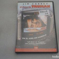 Cine: (9-B3) / 1 X DVD - EL SHOW DE TRUMAN - JIM CARREY. Lote 198995258