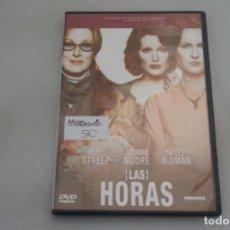 Cine: (9-B3) / 1 X DVD - LAS HORAS - MERYL STREEP, JULIANNE MOORE, NICOLE KIDMAN. Lote 198995316