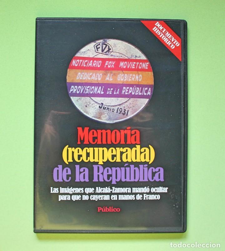DVD DOCUMENTAL - MEMORIA RECUPERADA DE LA REPÚBLICA (Cine - Películas - DVD)