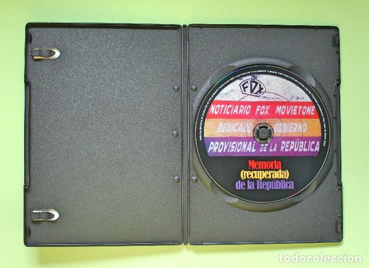 Cine: DVD Documental - Memoria recuperada de la República - Foto 3 - 199109821