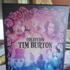 Cine: COLECCIÓN TIM BURTON - ESTUCHE CON 9 DVD. Lote 199142816