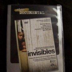 Cine: INVISIBLES (MARIANO BARROSO, ISABEL COIXET, FERNANDO LEÓN, JAVIER CORCUERA, WIN WENDERS) DOCUMENTAL. Lote 199173523
