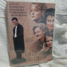 Cine: 15198 CON LOS OJOS DEL CORAZÓN - DVD SEGUNDAMANO. Lote 199174488
