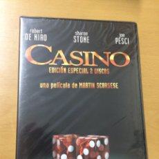 Cine: CASINO. ROBERT DE NIRO. EDICIÓN ESPECIAL. 2 DISCOS. PRECINTADA. Lote 199203400