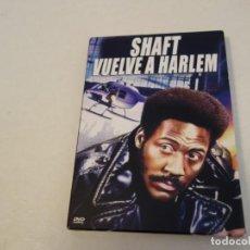 Cine: TEASLI DVD VIDEO. SHAFT VUELVE A HARLEM. COMO NUEVO.. Lote 199473780