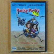 Cine: HANKY PANKY UNA FUGA MUY CHIFLADA - DVD. Lote 199626947