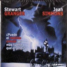 Cine: PASOS EN LA NIEBLA STEWART GRANGER (PRECINTADO). Lote 199627215