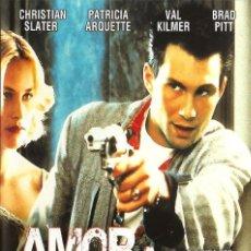 Cine: AMOR A QUEMARROPA - TRUE ROMANCE (NUEVO). Lote 199628026