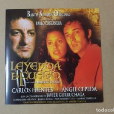 Cine: BSO ORIGINAL LEYENDA DE FUEGO CON ANGIE CEPEDA Y JAVIER GURRUCHAGA. CINE ESPAÑOL. Lote 199628911