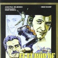 Cinema: EL FUROR DE LA CODICIA (JEAN PAUL BELMONDO) - DVD NUEVO Y PRECINTADO. Lote 199799882