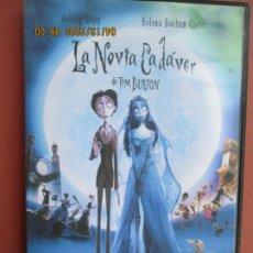 Cinema: LA NOVIA CADAVER , DE TIM BURTON - JOHNNY DEPP . Lote 200288658