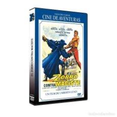 Cinema: EL ZORRO CONTRA MACISTE - DVD NUEVO Y PRECINTADO (UMBERTO LENZI). Lote 238588400