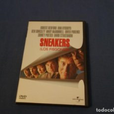 Cine: TEASLI DVD VIDEO. SNEAKERS. LOS FISGONES. ROBERT REDFORD. BEN KINGSLEY. SIDNEY POITIER. Lote 200377540