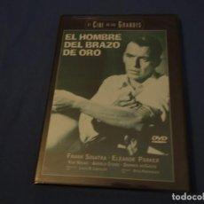 Cine: TEASLI DVD VIDEO. EL HOMBRE DEL BRAZO DE ORO. NUEVA PRECINTADA.. Lote 200378403