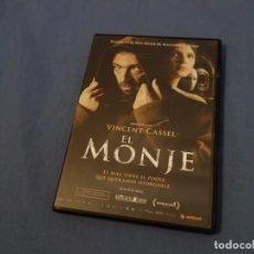 Cine: TEASLI DVD VIDEO. EL MONJE. VICENT CASSEL.. Lote 200379152