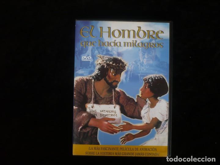 EL HOMBRE QUE HACIA MILAGROS - DVD COMO NUEVO (Cine - Películas - DVD)