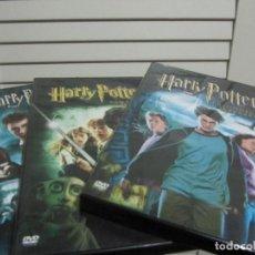 Cine: LOTE 3 PELICULAS HARRY POTTER. Lote 200761091
