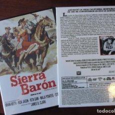 Cine: SIERRA BARON / OESTE / BRIAN KEITH - RITA GAM - MALA POWERS - CON CAJA PROTECTORA - ENVIO GRATIS. Lote 201118425